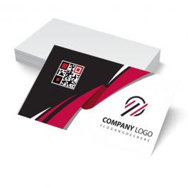 Cartão de visita Couchê 300g 9x5cm Frente Laminação Fosca com Verniz Localizado Corte Reto