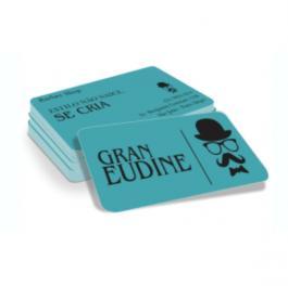 Cartão de Visita PVC PVC 0,3mm - Branco 8,5x5,4cm Frente e Verso Verniz Total Brilho Cantos Arredondados