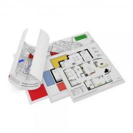 Plotagem Preenchimento Papel Vegetal  Colorido, Full Color