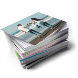 Revelação de Foto 10x15cm Papel Fotográfico 10x15cm Frente  Corte Reto